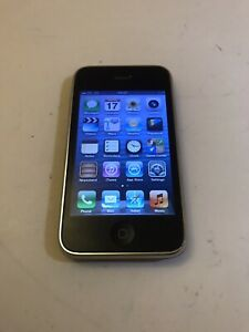 Apple iPhone 3GS - 8GB - Black ( Good Condition ) A1303 Smartphone Mobile