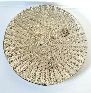 """Vintage Michael Aram 13.5"""" Round Display Plate Signed ARAM Unique Art Design"""