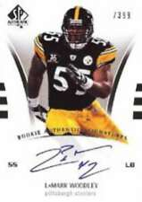 2007 SP Authentic #259 LaMarr Woodley Steelers  /399 (RC - Rookie Card) Auto