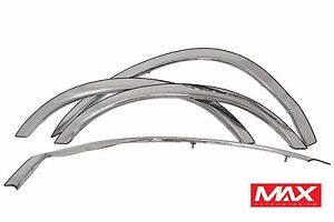 FTFD208 03-11 Ford Crown Victoria Mercury Grand Marquis Stainless Fender Trim