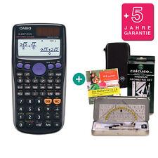 Casio fx 85 GT plus negro calculadora + funda protectora, Geoset, aprender CD, garantía