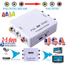 <US>Hot PAL/NTSC/SECAM to PAL/NTSC Bi-directional TV Switcher Converter FDA CE
