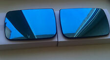 BMW X5 E53 2000-2003 LEFT+RIGHT side Heated Door Mirror Glass & Backing Plate