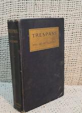 TRESPASS MRS HENRY DUDENEY RARE OLD ANTIQUE  FIRST EDITION VICTORIAN ROMANCE
