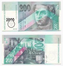 SLOVAKIA 200 Korun Banknote Millennium o/p - P.37 - UNC.