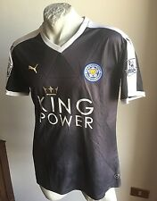 Maglia calcio puma football shirt leichester city foxes jersey ranieri 2015 away