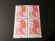FRANCE 1986, VARIETE PIQUAGE à CHEVAL 2 PAIRE timbre 2427, se tenant neuf**, MNH