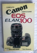 Canon EOS Elan 100 user guide