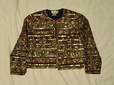 Womens Gold Sequence Jacket Fashion