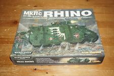 WARHAMMER 40k Space Marine Rhino Mkllc MINIATURE Game Workshop