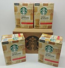 88 Pods Starbucks Toasted Graham Flavored Coffee  K-Cups Fast Shipping 1 case