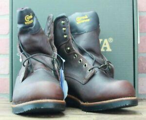 Chippewa Men's Brown Waterproof Work Boot 25257 Size 8.5EEE