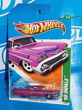 Hot Wheels 2011 Treasure Hunts Series #53 '58 Impala Magenta