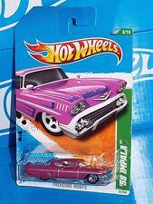 Hot Wheels 2011 Treasure Hunts Series #53 '58 Impala Magenta
