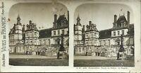 Château Da Fontainebleau Façade La Cappella Foto PL37 Stereo Vintage Analogica