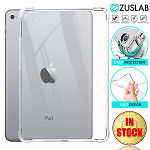 For Apple iPad Pro Air Mini 1 2nd 3rd 4 5th 6th 7th 8th Case Clear Heavy Duty