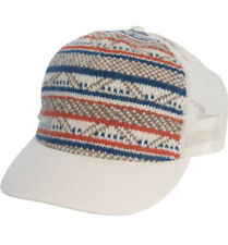 NWT Toad & Co Fairisle Trucker Hat Oatmeal Jacquard Pattern Nordic Sweater Mesh