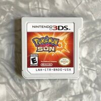 Pokemon Sun Nintendo DS Authentic Cartridge Cleaned & TESTED Fast Ship!
