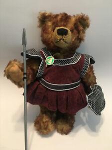 Teddy Bear by Hermann Bears Goliath Growler Tilt Mohair Rare #98/1000