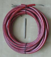 Hochspannungskabel 120kV 2m Silikon High Voltage Wire Silicone Cable test