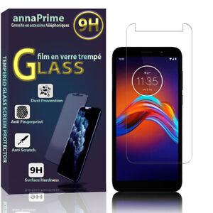 """1 Film Verre Trempé Protecteur Écran Motorola Moto E6 Play 5.5"""" XT2029 XT2029-1"""