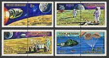 Cook Isls 319-322,322c,hinged.Mi 306-313,Bl.13. Exploration of Moon,Apollo.1972