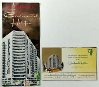1960's The New CONTINENTAL HILTON Mexico City Brochures