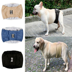 Pet Puppy Dog's Belly Band Diaper Underwear Sanitary Pee Training Pet Supplies