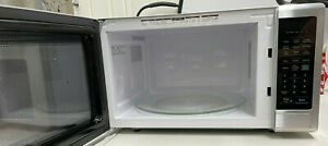 Sharp 2.2 Cu. Ft. 1200W Stainless Steel Carousel Countertop Microwave Oven