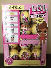 LOL Surprise Doll SERIES 3 LIL SIS SISTERS - Case of 24 Balls -  NEW