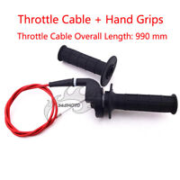 Throttle Hand Grips Cable For 110 125 140 150 160cc Pit Dirt Bike Motorcycle