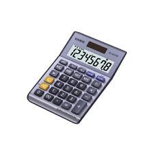 Casio de plata de 8 Dígitos Calculadora de divisas MS -80 verii-S-Ep