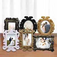 RETRO HOLLOW DESIGN OVAL/RECTANGLE PHOTO FRAME PICTURE HOLDER WEDDING DECOR GIFT