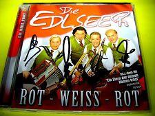 DIE EDLSEER - ROT - WEISS - ROT + AUTOGRAMME < > Volksmusik Shop 111austria
