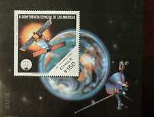 O) 1993 CHILE, SECOND SPACE CONFERENCE OF THE AMERICAS, SOUVENIR MNH
