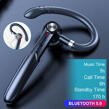 New listing Bluetooth 5.0 Earpiece Wireless Headset Trucker Handsfree Earphone In Ear Earbud