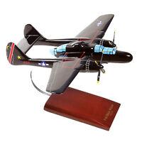 USAF Northrop P-61B Black Widow Desk Display 1/48 WW2 Model Plane ES Airplane