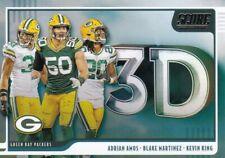 Green Bay Packers - 2020 Panini Score (3D) Sammelkarte