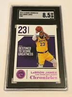 SGC 8.5 - 2018-19 Chronicles Basketball Pink - LeBron James - Los Angeles Lakers
