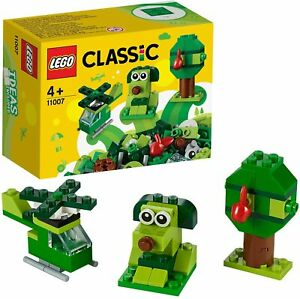 Lego Classic Creative Green Bricks 11007 Learning Starter Set. Ideal Xmas Gift!