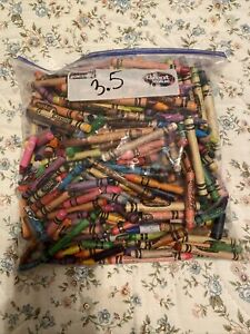 lot of used crayons. 3.5#