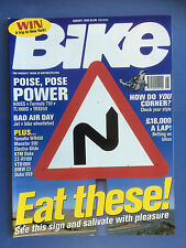 BIKE - August 1998 - Ducati 900S - Yamaha WR400F - KTM Duke 640 - Magazine