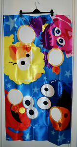 New! Sesame Street Elmo Indoor/Outdoor Bean Bag Toss Game for Kids and Adults
