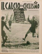 IL CALCIO ILLUSTRATO N 35 1957 INTER ANGELILLO - TORINO GENOA MILAN