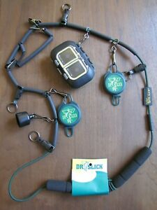 Fly Fishing Dr. Slick Elastic Lanyard/Necklace w/ Fly Box
