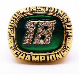 2000 #18 BOBBY LABONTE INTERSTATE BATTERIES RACING CHAMPIONSHIP RING SIZE 12