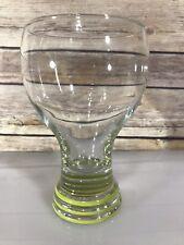 FIESTA FIESTAWARE GOBLET DRINKING GLASS BASE RINGS Lime Green RETIRED