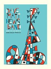 Dave Matthews Band Poster 10 Maryland Heights Mo Signed & Numbered #/450