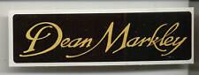 Dean Markley Sticker / Decal