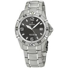 Festina Quarz-(Batterie) Armbanduhren aus Edelstahl für Herren